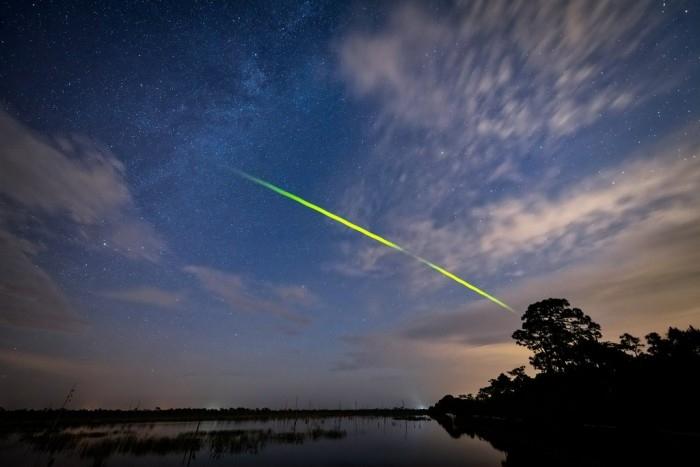 宝瓶座流星雨本周在天际上演其碎片来自哈雷彗星
